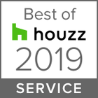 This award in recognition that Nathan Verri Masters of Design & Building was rated the highest level for client satisfaction by the Houzz community 2019