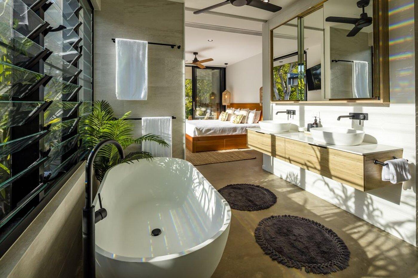 New Build Designer Bathroom
