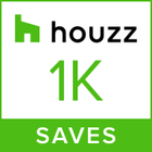 This badge indicates Nathan Verri Master of Design and Building portfolio images have been saved more than one thousand times to idea-books on Houzz!