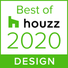 This badge indicates Nathan Verri Masters of Design & Building was voted most popular by the Houzz community 2020!