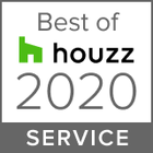 This badge indicates Nathan Verri Masters of Design & Building was rated the highest level for client satisfaction by the Houzz community 2020.