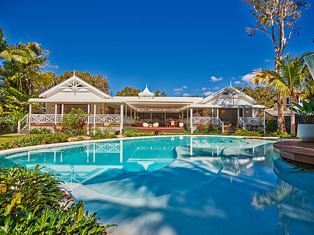 While Federation House Overlooking Resort Style Pool